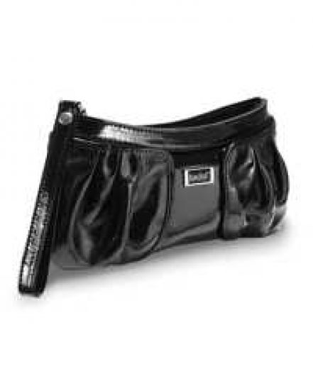 Bedol Wristlett Black Patent Leather