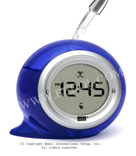 Squirt Alarm The Bedol Water Clock Blueberry
