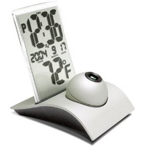 Q-Ball Projection Clock